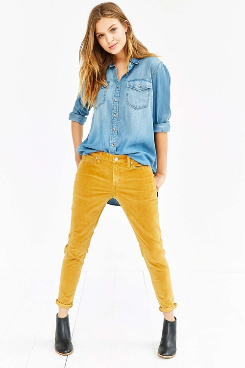 Slim-Fit Corduroy Jeans by BDG in Scream Queens