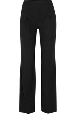 Hart Stretch-Wool Pants by Alice + Olivia in The Good Wife