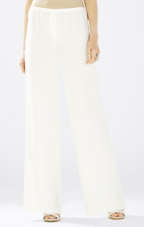 Nalan Wide-Leg Pants by BCBGMAXAZRIA in Pretty Little Liars - Season 6 Episode 10