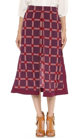 Long Apron Skirt by CG in Elementary