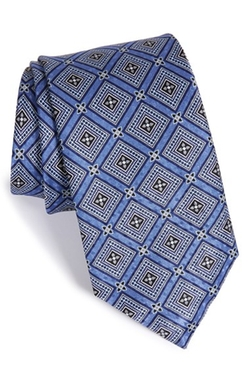 Geometric Silk Tie by J.Z. Richards in The Nice Guys