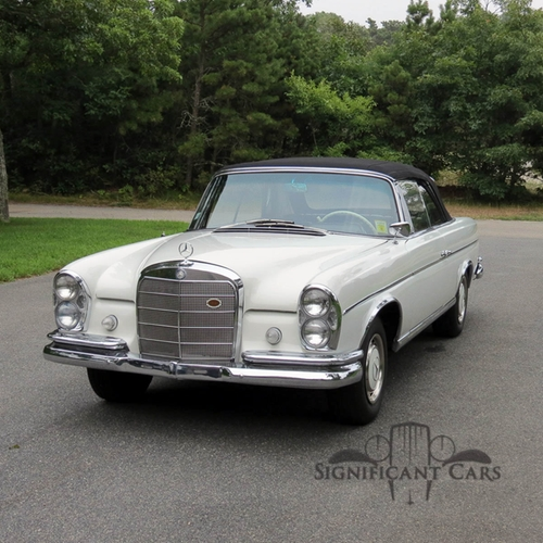 1963 300 SE Cabriolet Convertible Car by Mercedes Benz in And So It Goes
