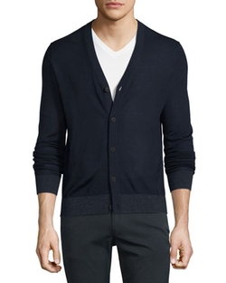 Rothley Merino Wool Cardigan by Theory in Ballers