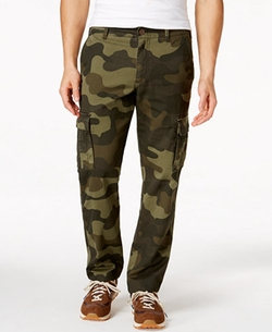Men's Camo Cargo Pants by American Rag in The Great Indoors
