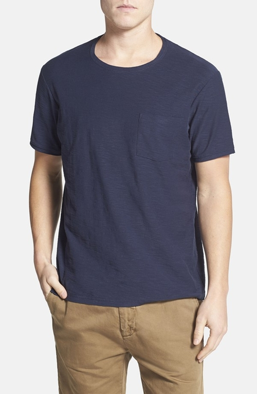 Stokes Valley Crewneck Pocket T-Shirt by Rodd & Gunn in The Big Short