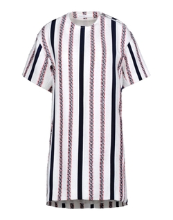 Luck Short Dress by Sacai in Rosewood
