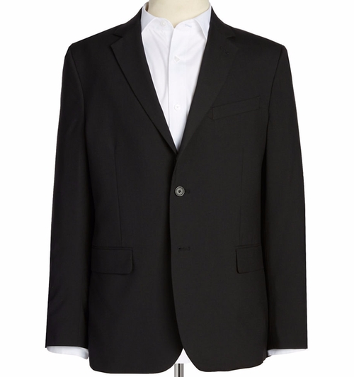 Solid Wool-Blend Blazer by Nautica in War Dogs