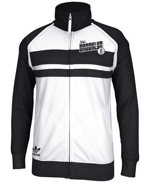 Men's Brooklyn Nets Full-Zip Track Jacket by Adidas in Kingsman: The Secret Service