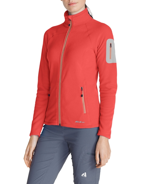Pro Full-Zip Fleece Jacket by Cloud Layer in Crazy, Stupid, Love.
