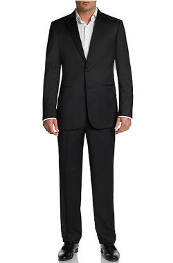 Classic-Fit Wool Two-Button Tuxedo by Saks Fifth Avenue Black in Savages
