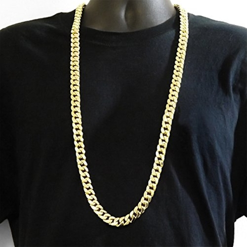 Miami Curb Cuban Link Chain Necklace by Cream Jewelry Best in Ballers - Season 1 Episode 4