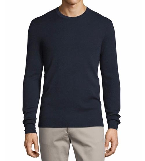 Interlock Long-Sleeve Cashmere Sweater by Michael Kors in Billions - Season 1 Episode 12