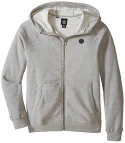 Zip-Front Hoodie Jacket by Volcom in Supergirl