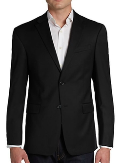 Trim-Fit Wool Two-Button Sportcoat by Tommy Hilfiger in Captive