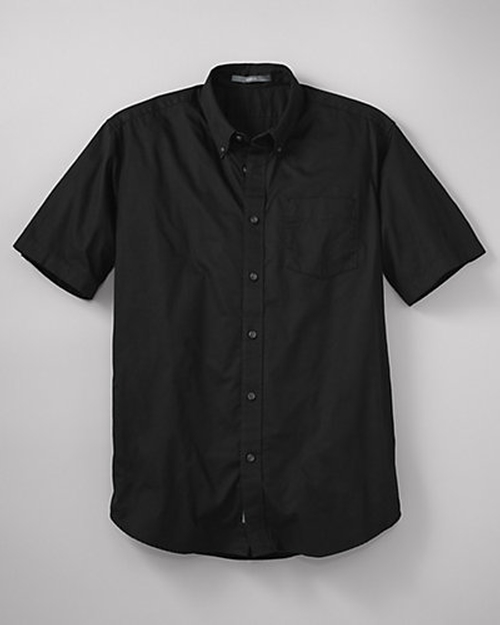 Relaxed Fit Signature Twill Shirt by Eddie Bauer in Straight Outta Compton