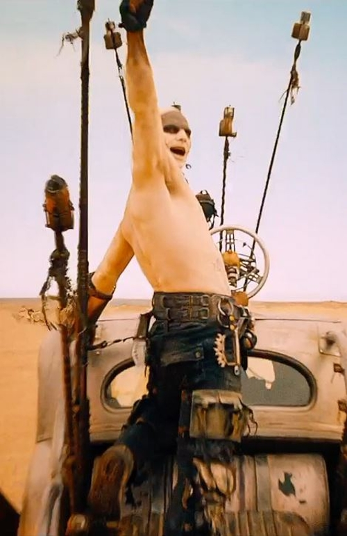 Custom Made Pants (Slit) by Jenny Beavan (Costume Designer) in Mad Max: Fury Road