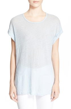 'Le Muscle' Linen Tee Shirt by Frame Denim in Pretty Little Liars