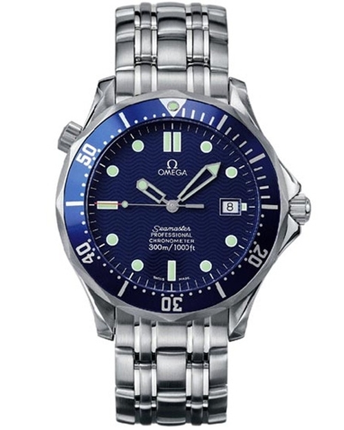 Seamaster Chronometer Watch by Omega in Tomorrow Never Dies