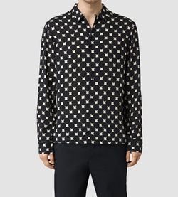 Inkblot Shirt by AllSaints in Shadowhunters