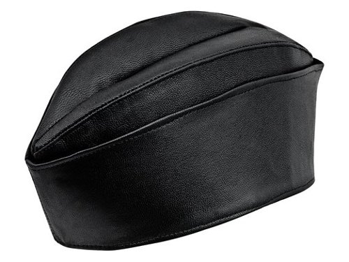 Genuine Leather Garrison Cap by Sterkowski in Unfinished Business