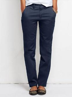 Women's Tall Fit 2 Straight Leg Chino Pants by Lands' End in Lee Daniels' The Butler