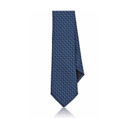 Brick-Pattern Necktie by Title of Work in The Boss