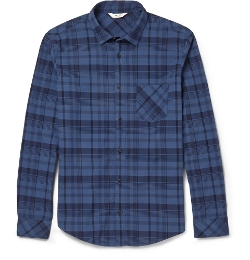 Frede Checked Cotton Shirt by NN.07 in Before I Wake