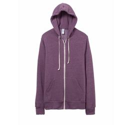 Rocky Eco-Fleece Zip Hoodie by Alternative Apparel in Silicon Valley