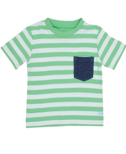 Boys Stripe Pocket Tee Shirt by RuggedButts in Modern Family