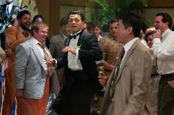 Custom Made Tuxedo by Sandy Powell (Costume Designer) and Leonard Logsdail (Tailor) in The Wolf of Wall Street