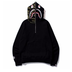 Shark Half Zip Pullover Hoodie by Bape in Keeping Up With The Kardashians