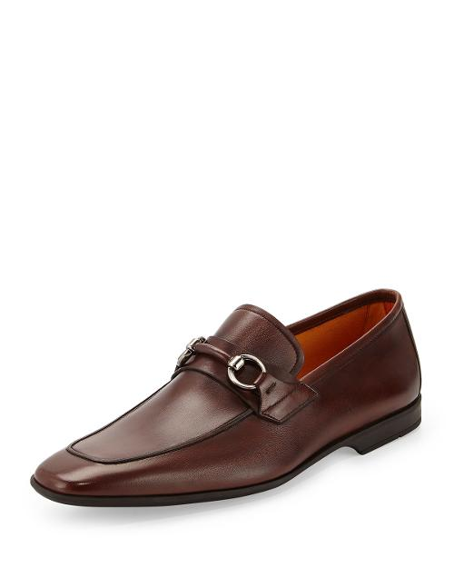 Leather Bit Loafer by Magnanni for Neiman Marcus in Anchorman 2: The Legend Continues