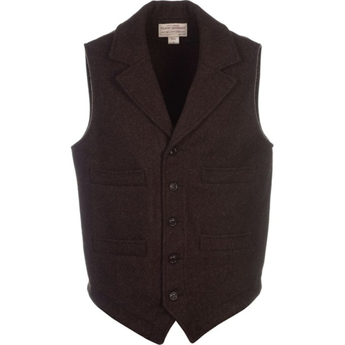 Mackinaw Western Vest by Filson  in The Blacklist - Season 3 Episode 19