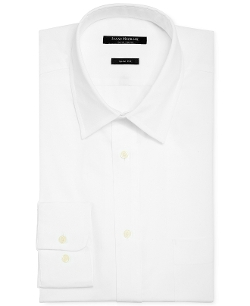 Twill Solid Dress Shirt by Isaac Mizrahi in Ricki and the Flash
