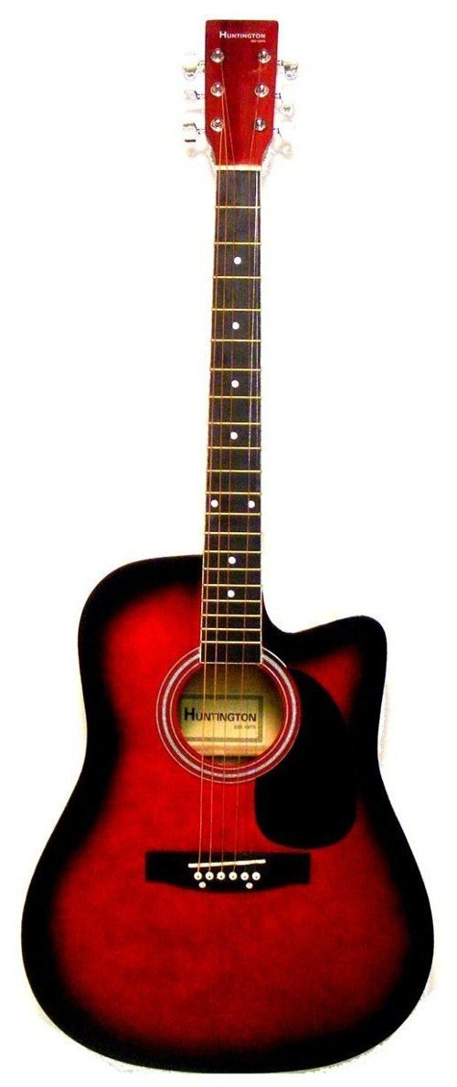 Cutaway Acoustic Guitar by Directly Cheap in Black or White