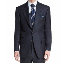 Windsor Base Birdseye Wool Two-Piece Suit by Tom Ford in Empire