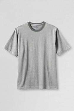 Men's Short Sleeve Ringer Super-T by Land's End in The Hunger Games: Mockingjay - Part 2