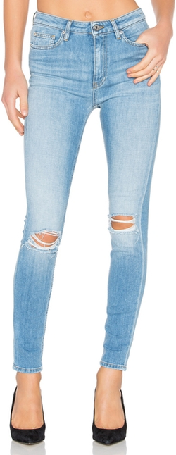 Pamela Distressed Skinny by Iro Jeans in Animal Kingdom