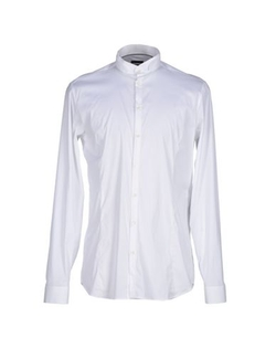 Mandarin Collar Shirt by Patrizia Pepe in Dr. No