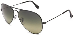 Aviator Large Metal Sunglasses by Ray-Ban in Entourage
