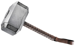 Mjolnir Hammer by Andy Park (Concept Artist) in Thor: The Dark World