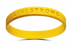 Wristbands by Livestrong in The Program