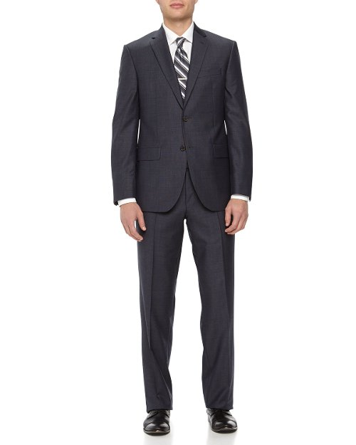 Two-Piece Neat Wool Suit by Neiman Marcus in Get Hard