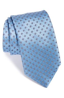 Dot Silk Tie by Ermenegildo Zegna in Suits