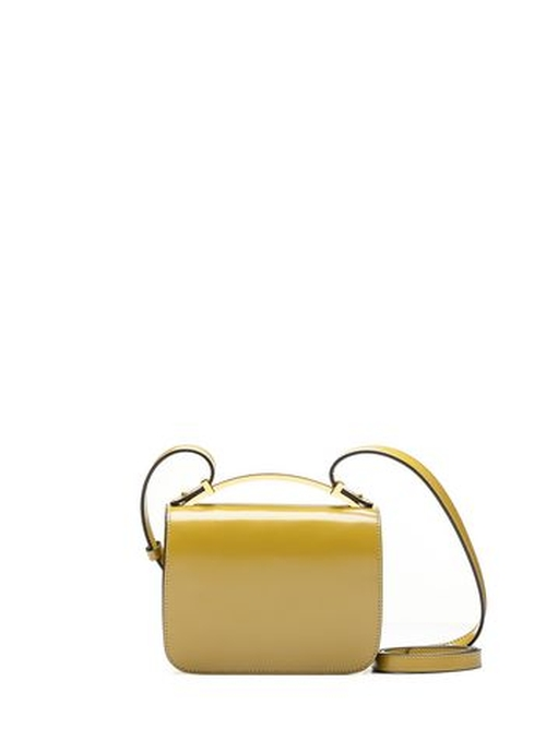 "Sculpture Bag in Shiny Calfskin ""Lime"" by Marni in The Man from U.N.C.L.E."