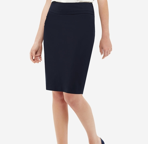 Piped Pencil Skirt by The Limited in The Boss