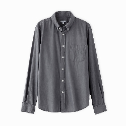 Classic Collegiate Shirt by Steven Alan in Sinister 2