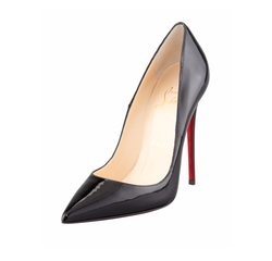 So Kate Patent Leather Point-Toe Pump by Christian Louboutin in Conviction