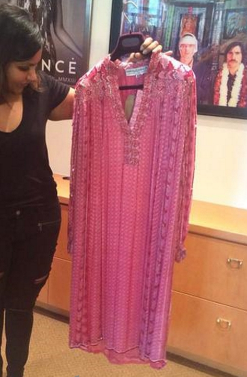 Vintage Embellished Tunic Dress by House of Harlow in The Mindy Project - Season 4 Episode 6