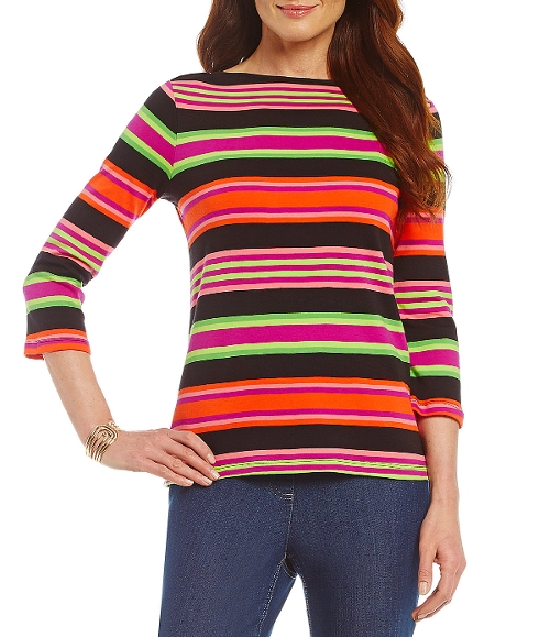 3/4 Sleeve Boatneck T-Shirt by Westbound in Me and Earl and the Dying Girl